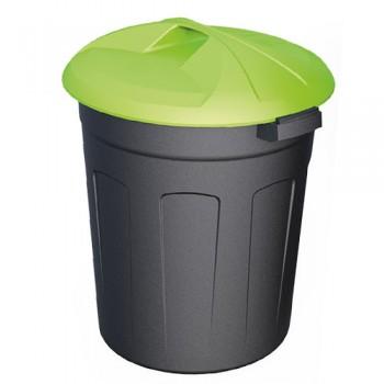 Пластиковый контейнер 150 литров цилиндрический