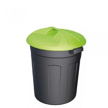 Пластиковый контейнер 50 литров цилиндрический