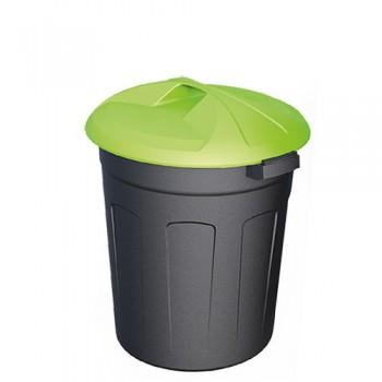 Пластиковый контейнер 70 литров цилиндрический