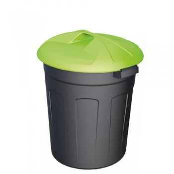 Пластиковый контейнер 90 литров цилиндрический