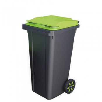 Пластиковый контейнер для мусора 120 литров